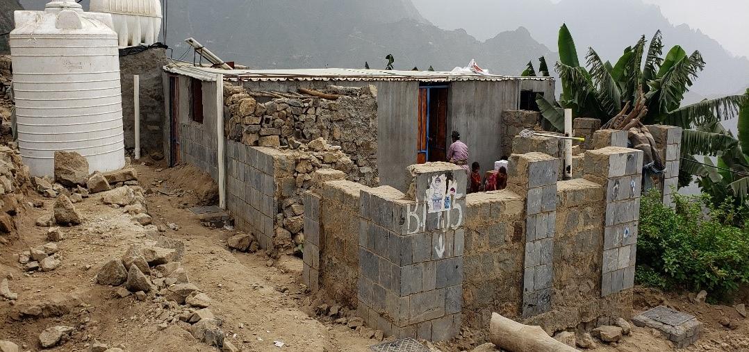Constructing Hamdan Health Unit in Milhan